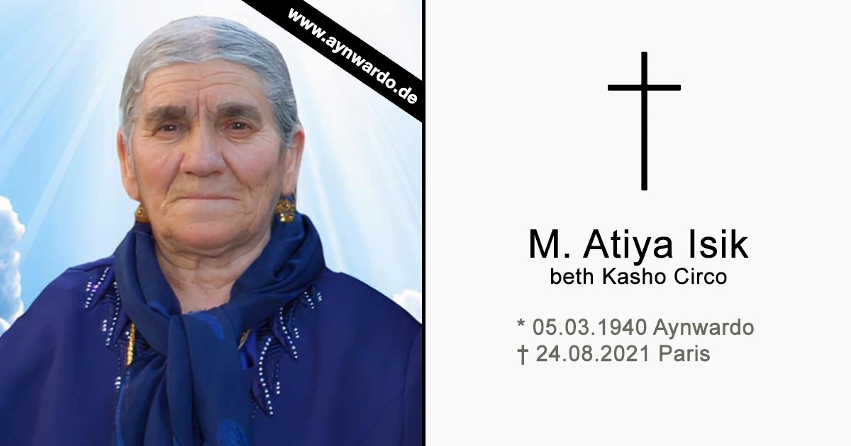 Read more about the article † M. Atiya Isik beth Kasho Circo †