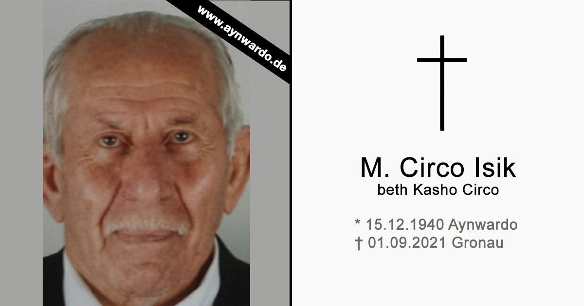 Read more about the article † M. Circo Isik beth Kasho Circo †