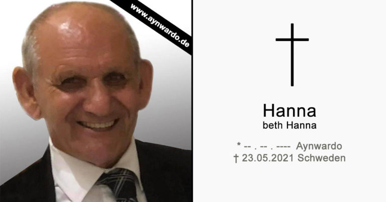 † Hanna dbe Hanna †