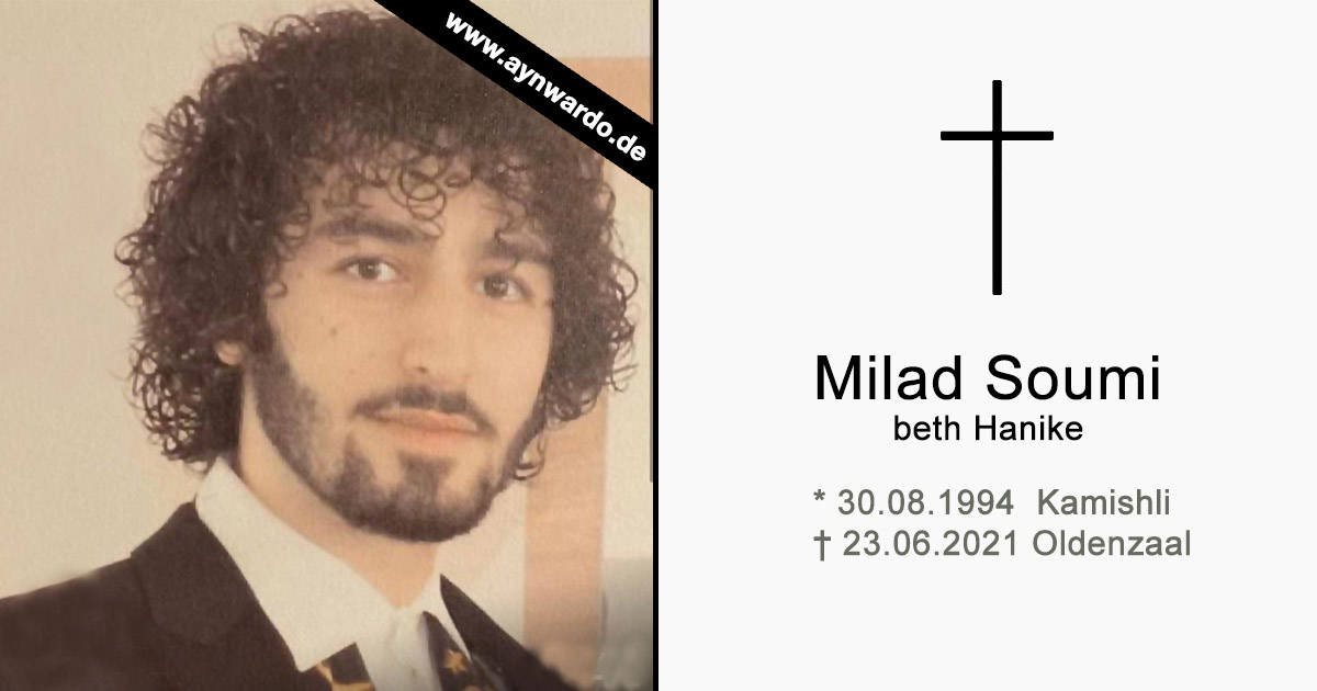 Read more about the article † Milad Soumi beth Hanike †