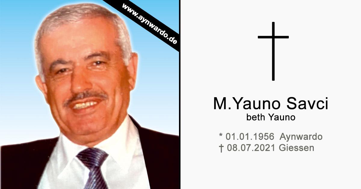 Read more about the article † M. Yauno Savci beth Yauno †
