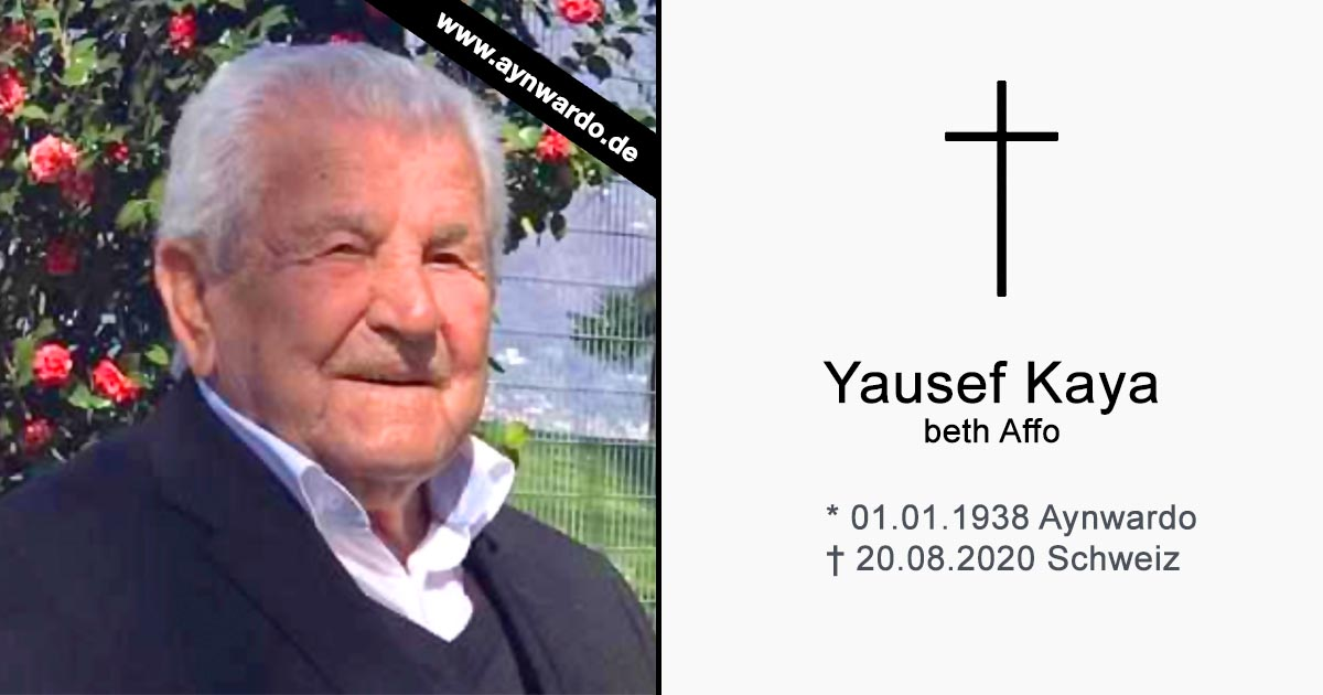 You are currently viewing † Yausef Kaya beth Affo †