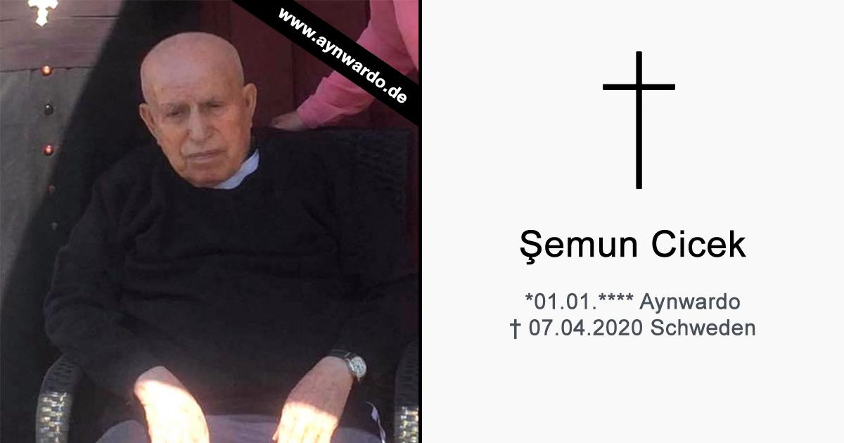 You are currently viewing Verstorben: † Şemun Cicek